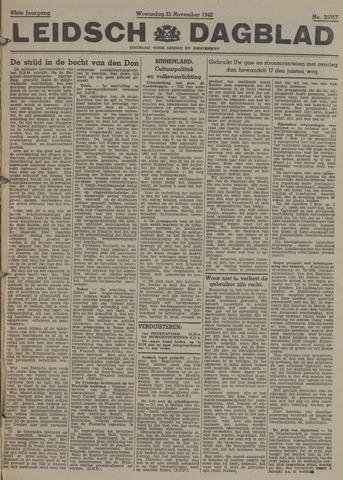 Leidsch Dagblad 1942-11-25