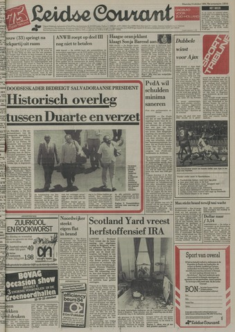Leidse Courant 1984-10-15