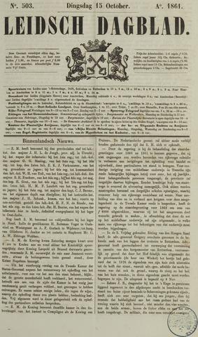 Leidsch Dagblad 1861-10-15