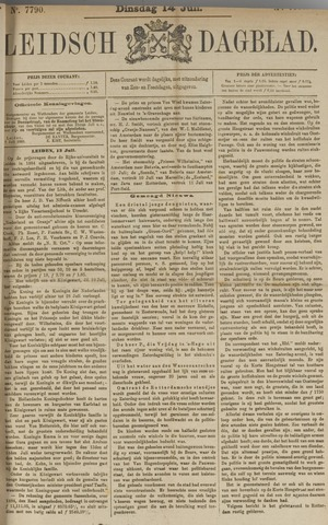 Leidsch Dagblad 1885-07-14