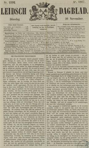 Leidsch Dagblad 1867-11-26
