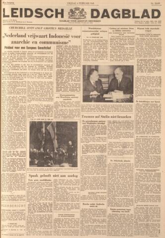 Leidsch Dagblad 1949-02-04