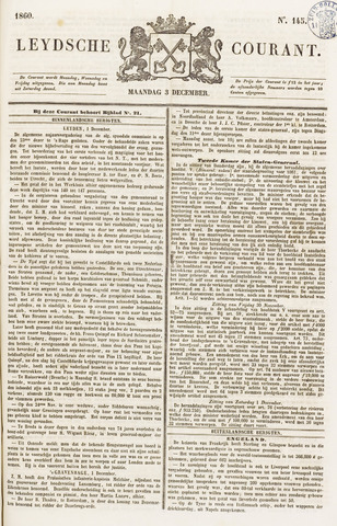 Leydse Courant 1860-12-03
