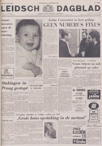 Leidsch Dagblad 1968-11-21