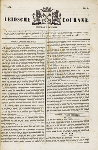 Leydse Courant 1871-01-03