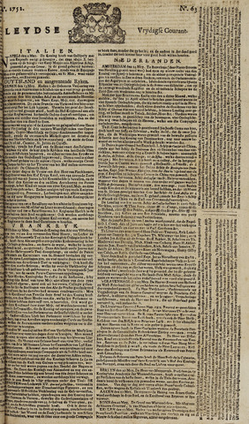 Leydse Courant 1752-05-26