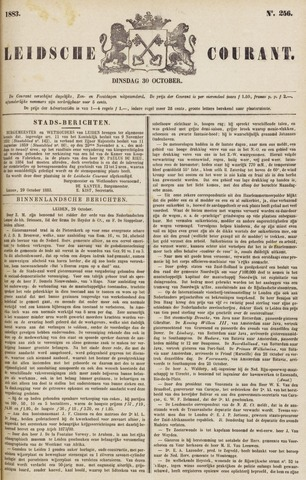 Leydse Courant 1883-10-30