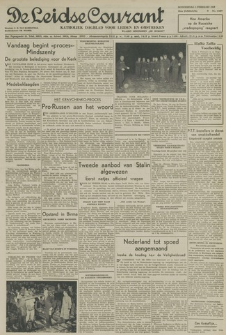Leidse Courant 1949-02-03