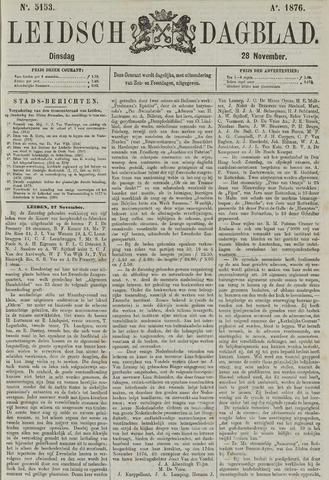 Leidsch Dagblad 1876-11-28