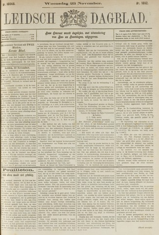 Leidsch Dagblad 1892-11-23