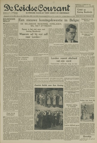 Leidse Courant 1952-02-13