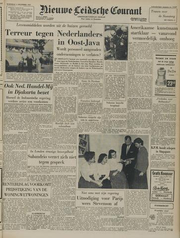 Nieuwe Leidsche Courant 1957-12-04
