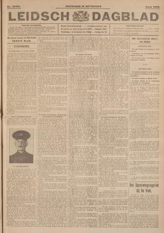 Leidsch Dagblad 1926-09-15