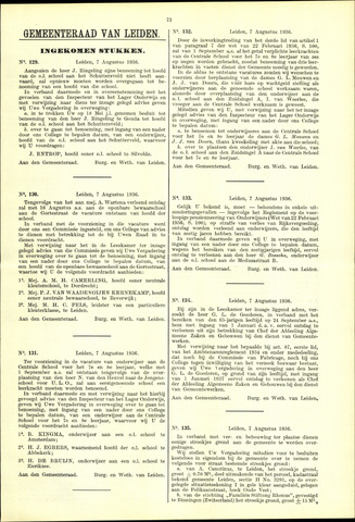 Handelingen van de Raad 1936-08-07