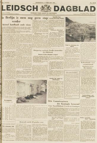 Leidsch Dagblad 1954-02-04