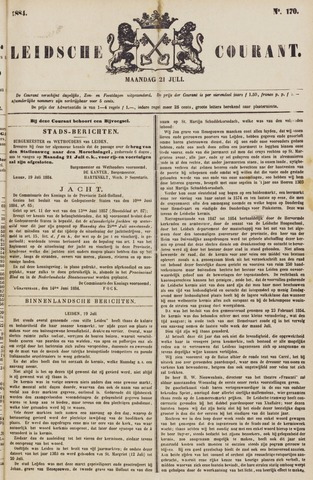 Leydse Courant 1884-07-21