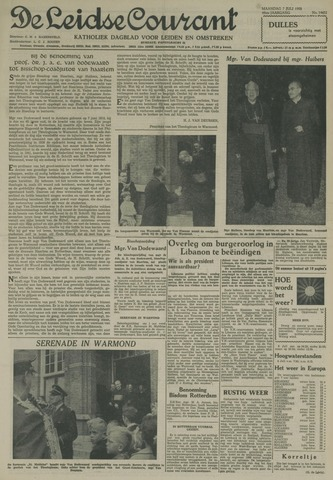 Leidse Courant 1958-07-07