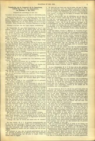 Handelingen van de Raad 1918-05-27