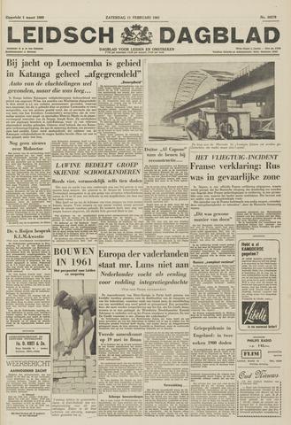 Leidsch Dagblad 1961-02-11