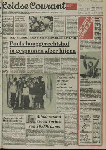 Leidse Courant 1980-11-10