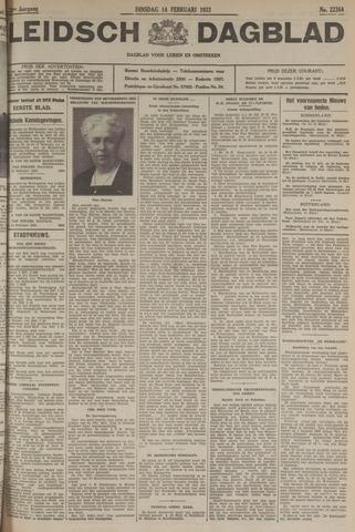 Leidsch Dagblad 1933-02-14