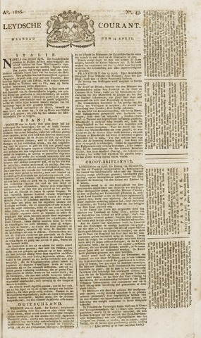 Leydse Courant 1826-04-24