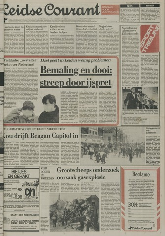 Leidse Courant 1985-01-21