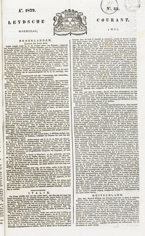 Leydse Courant 1839-05-01