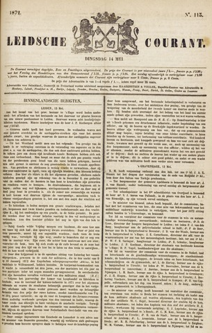 Leydse Courant 1872-05-14
