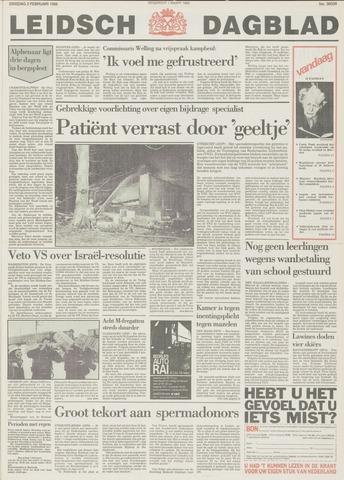 Leidsch Dagblad 1988-02-02
