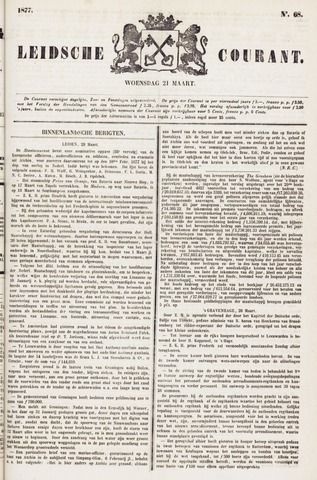 Leydse Courant 1877-03-21