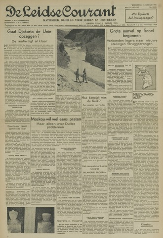 Leidse Courant 1951-01-03