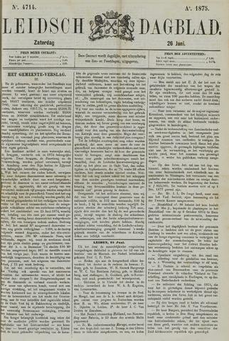 Leidsch Dagblad 1875-06-26