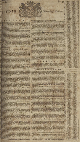 Leydse Courant 1760-08-13