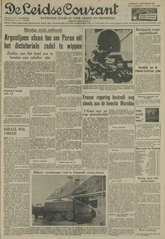 Leidse Courant 1955-09-17