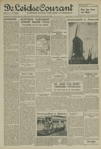 Leidse Courant 1952-01-29