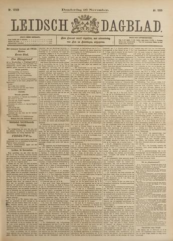 Leidsch Dagblad 1899-11-16