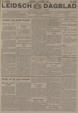 Leidsch Dagblad 1940-09-11