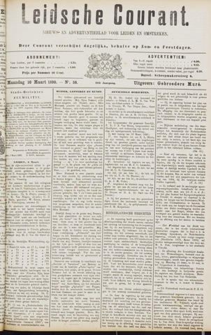 Leydse Courant 1890-03-10