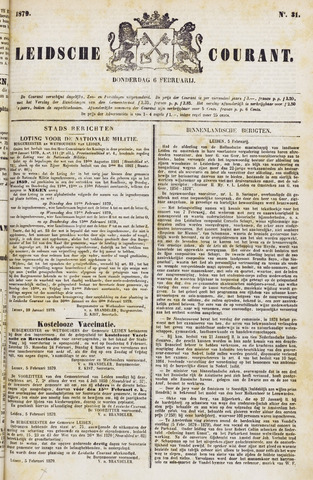 Leydse Courant 1879-02-06