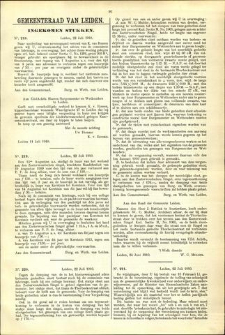 Handelingen van de Raad 1910-07-22