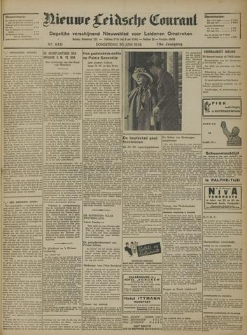 Nieuwe Leidsche Courant 1938-06-30