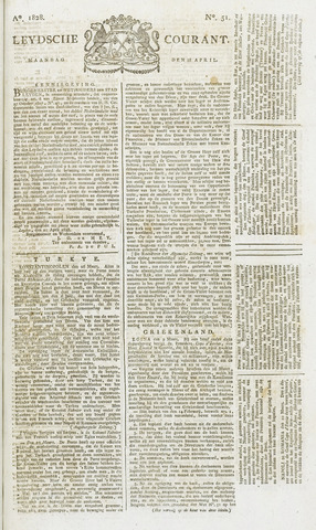 Leydse Courant 1828-04-28