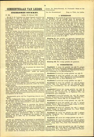 Handelingen van de Raad 1920-02-18