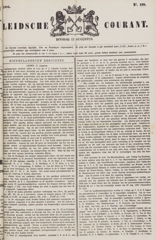Leydse Courant 1884-08-12