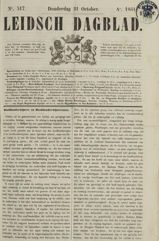 Leidsch Dagblad 1861-10-31