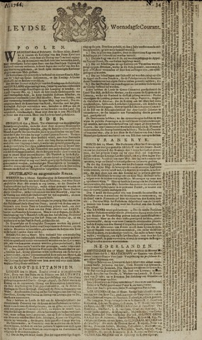 Leydse Courant 1766-03-19