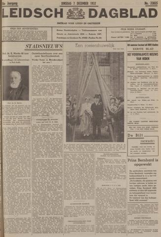Leidsch Dagblad 1937-12-07