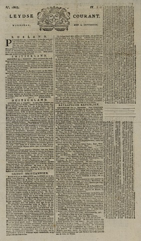 Leydse Courant 1803-09-14