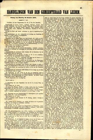 Handelingen van de Raad 1873-10-28